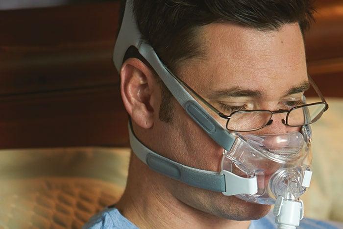 apnee du sommeil masque facial