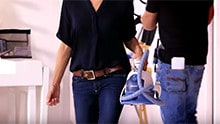Silk blouse video