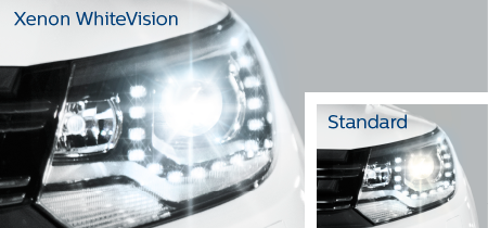Xenon WhiteVision ultimate white led effect