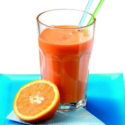 Jus de betterave, orange et gigembre - Boisson et glace | Philips