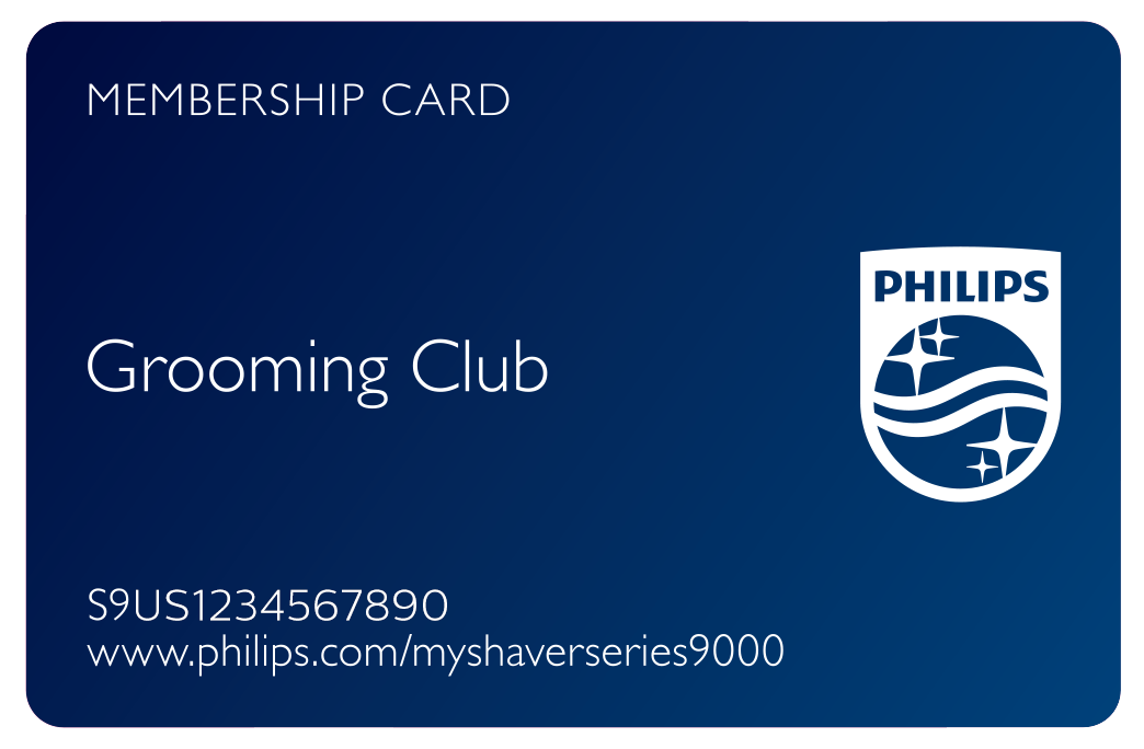 Personal Grooming Club Card