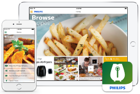 Application Philips Airfryer Avance