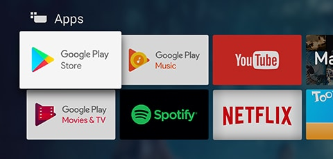Téléviseurs Android TV de Philips