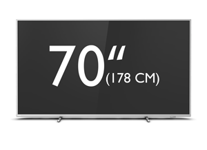 Téléviseur Android LED 4K UHD Philips série The One 70 pouces (177 cm)