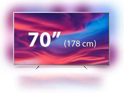 "Téléviseur Smart TV 70"" (177 cm) Philips série The one"